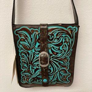 NWT Patricia Nash Venezia Crossbody Handbag Purse